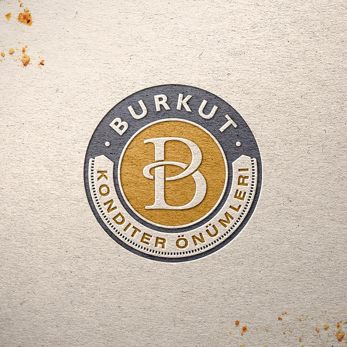 Burkut. Logo for a candy company