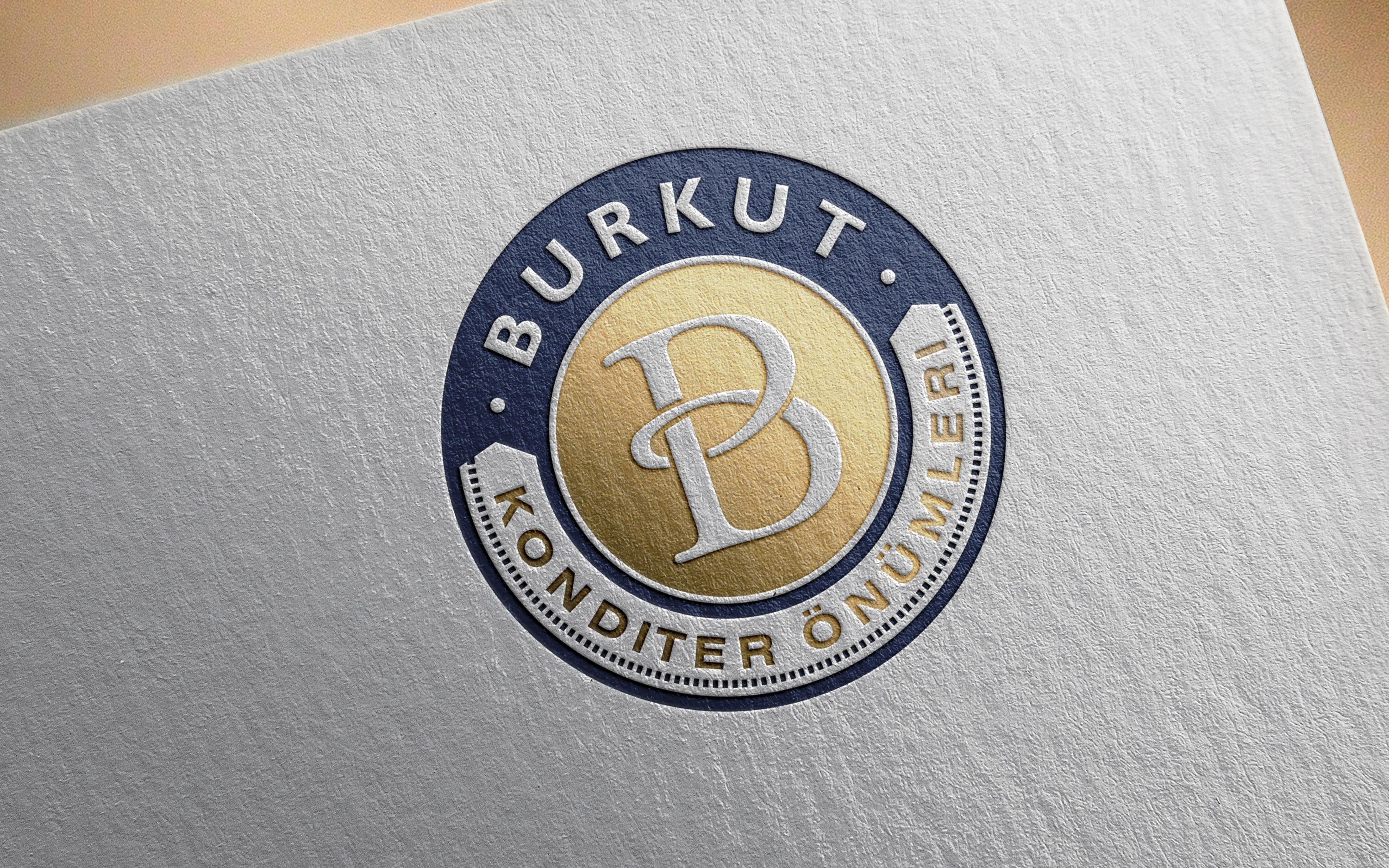 Burkut. Logo for a candy company