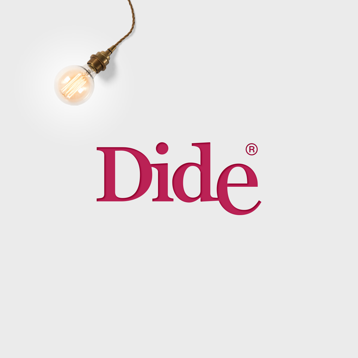 Dide. Logo for an interior design store