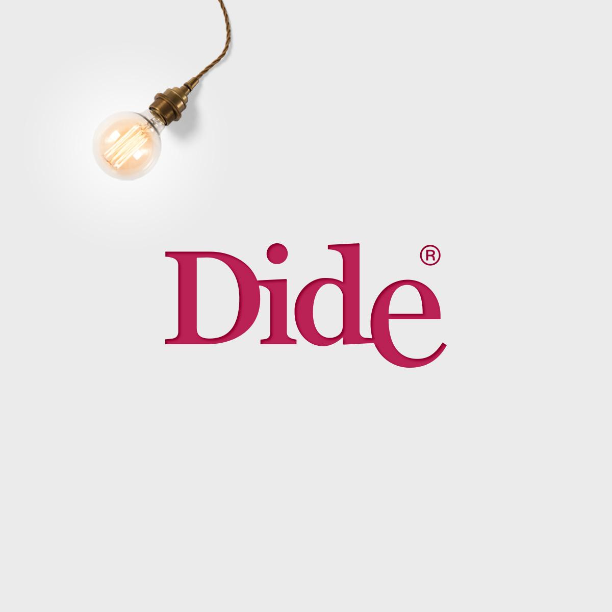 Dide. Logo for an interior design store