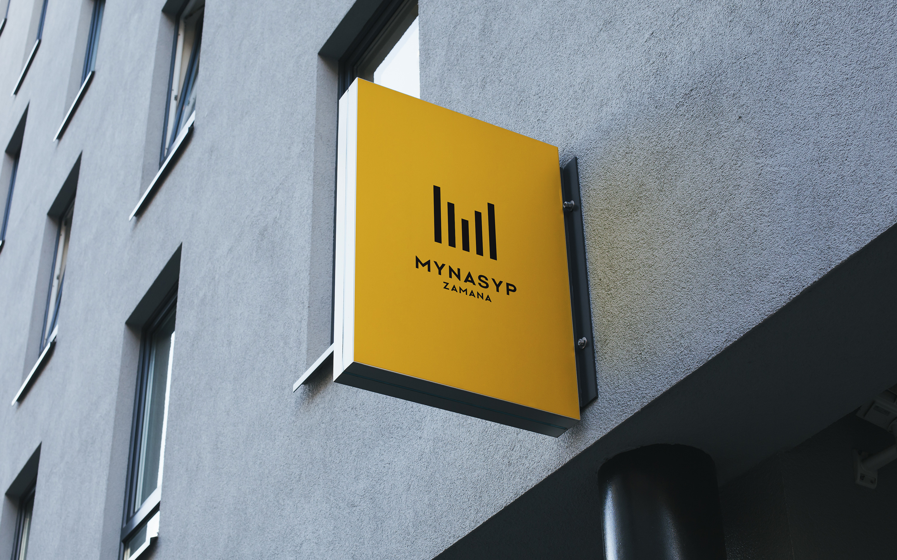 Mynasyp. Brand identity for a construction company
