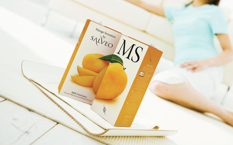 Salveo. Fresh juices packaging design