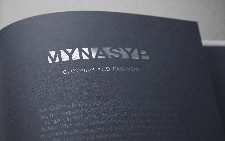 Mynasyp. Fashion Company Branding